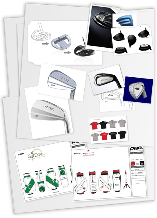 Professional Golf Europe Design Process